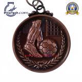 Kundenspezifische 3D sterben Form-Medaille, antikes kupfernes Ende