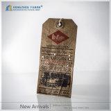 Het in het groot Document van Kaft van de Douane hangt Markering/Kraftpapier hangt Markering