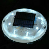 360 Straßen-Katzenauge-Reflektor des Grad-sichtbarer Plastiksolar-LED