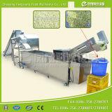 Linha de lavagem de corte em cubos do repolho Cdwa-2000 industrial, linha de processamento de lavagem do corte vegetal, alface que Shredding a linha de produção de lavagem