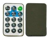 ビデオ可聴周波車の使用法のための薄いリモート・コントロール