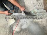 ガソリンチェーンソー、鎖はコンクリートについては見、石造りのチェーンが見た石を切る
