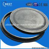 B125 En124 FRP 둥근 SMC 나사 맨홀 뚜껑