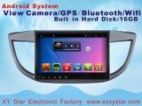 Navegação Android GPS do sistema para Honda 2015 CRV 10.1 polegadas com reprodutor de DVD do carro
