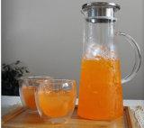 Het Drinken van de Pot van het Water van Equimpment van de Keuken van het glaswerk de Pot van de Thee van het Glas