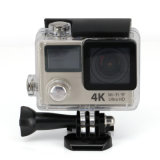 Câmara de vídeo 4k 12MP 170 Degree 2.0 Screen Sport Action Cam