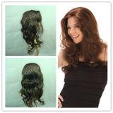 Парик шнурка человеческих волос 100% полный (Kinsofa 32102)