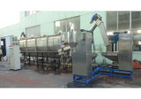Service海外Automatic PetのPE Flakes Recycling WashingおよびDrying Line
