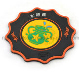 Custom Flexible Soft PVC Rubber Cup Pad Cup Mat