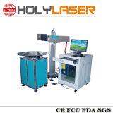 섬유 Laser 까만 백색 색깔 표하기 기계