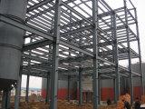 Mehrstöckiger heller Stahlkonstruktion-Aufbau-Nahrungsmittelwerkstatt-Rahmen (KXD-SSW49)