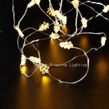 diodo emissor de luz 30 Battery Operated Copper Wire String Light de 3m para Party Home Decoration