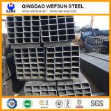 Ss400 Q235 schwarzes geschweißtes rechteckiges Rohr von China