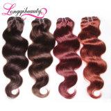 Объемная волна волос Remy девственницы 99j дешевого человека свободно линяя индийская