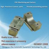 Pièce de rechange de fraisage de usinage de commande numérique par ordinateur de haute précision d'acier inoxydable d'usine