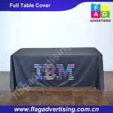 Perfekte Werbung Trade Show Polyester Full Table Cloth