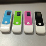 OEM draagbare Flash Digital MP3 Players van Design van Newst