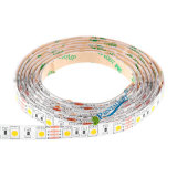 Rgb-weißes warmes Weiß 1m Fernsehapparat-Hintergrund-Beleuchtung DC5V 5050 3528 Streifen-Licht USB-LED
