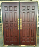 トルコ様式の銅の木のドア
