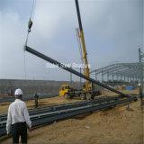 Stahlkonstruktion-Eisen-Blatt-ökonomische Stahlgebäude