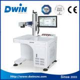 macchina della marcatura del laser di colore del collegare della fibra del metallo 20W con il mandrino rotativo da vendere