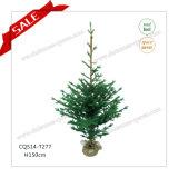 H90-125cm venden al por mayor el regalo modificado para requisitos particulares del árbol de navidad del arte de la hierba