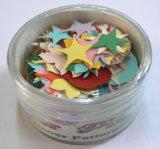 Paper colorido Flowers e Stars em Box para Card Making