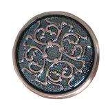 Estilo clássico tração de bronze forjada Hadle do gabinete de cozinha e botão