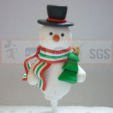 2015 nuevos productos Decoración navideña arcilla del polímero
