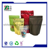 Fastfood- Reißverschluss-Beutel-Aluminiumfolie-verpackenkaffee-Beutel