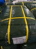 Couverture verte de bâche de protection de la Chine poly, poly roulis de bâche de protection, roulis de bâche de protection de PE