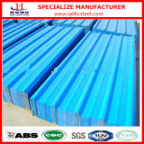 Embossed PPGL Color Coated Galvalume Sheet Corrugated Steel Roof