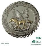 Moneda del metal de 2016 aduanas con el esmalte suave para el recuerdo