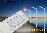 Éclairages LED solaires de rue d'énergie rechargeable de Sun avec la batterie au lithium