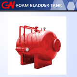火の泡システムのための熱い販売の水平の泡のぼうこうタンク