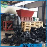 La plastica/gomma solida/acciaio residuo/possono/pneumatico/asta cilindrica biassiale/fabbrica di legno industriale della trinciatrice