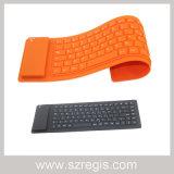 78keys flexible teclado inalámbrico Bluetooth V3.0 para el iPhone iPad Tablet