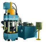 Machine hydraulique de presse à briqueter de sciure