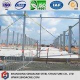 fornitore professionista di telaio della struttura d'acciaio di Peb