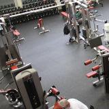 Crossfitの体操のゴム製床タイル