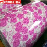 Verschiedener Stahlring des Ral Farben-Blumen-Druck-PPGI von China mit niedrigem Preis
