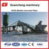 Centrale de malaxage concrète mobile de la fabrication 50m3/H de la Chine à vendre