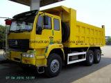Camion- de vidage mémoire de roues de HOWO 6X4 336HP 10 avec LHD/Rhd