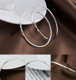 Anillo de oído grande de la manera de la plata esterlina 925