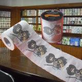 Rodillo impreso de encargo humano del tejido de cuarto de baño del papel higiénico