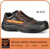 ローカットの衝撃のResistantceのレースSc2215が付いている偶然のスポーツの安全靴