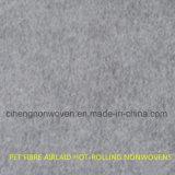 Tissu Thermo-Métallisé de Nonwoven de circuit principal de fibre d'animal familier