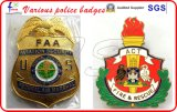 Badges de police de haute qualité Badges militaires