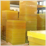 밝은 노란색 폴리우레탄 장, PU 장 백색 30MPa, 80 - 90shore a