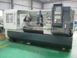 China CNC-Drehbank-Maschinen-flaches Bett CNC-Drehbank Siemens Ck6163